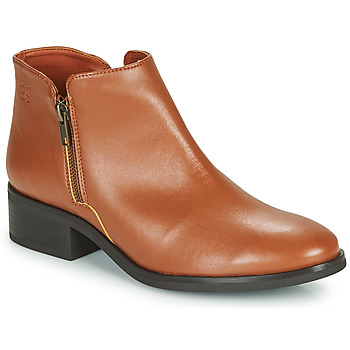 Shoes Women Mid boots Dream in Green NASTILLE Camel