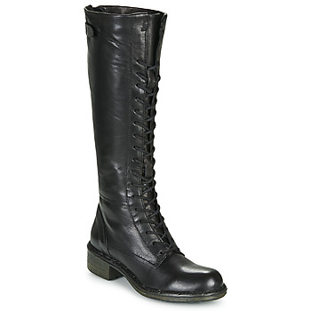 Shoes Women Boots Dream in Green NUCRE Black