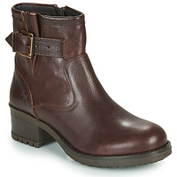 Shoes Women Ankle boots Dream in Green NETISE Brown