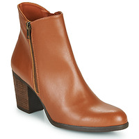 Shoes Women Ankle boots Dream in Green NACHOU Camel