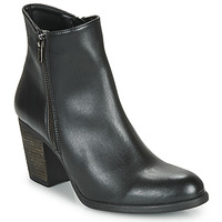 Shoes Women Ankle boots Dream in Green NACHOU Black