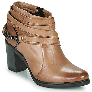 Shoes Women Low boots Dream in Green NEGUS Brown
