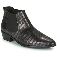 Shoes Women Mid boots Fericelli  Black / Silver
