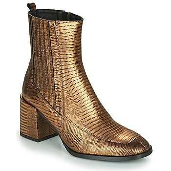 Shoes Women Ankle boots Fericelli  Gold