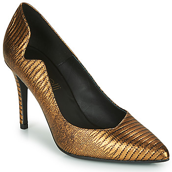 Shoes Women Court shoes Fericelli  Gold