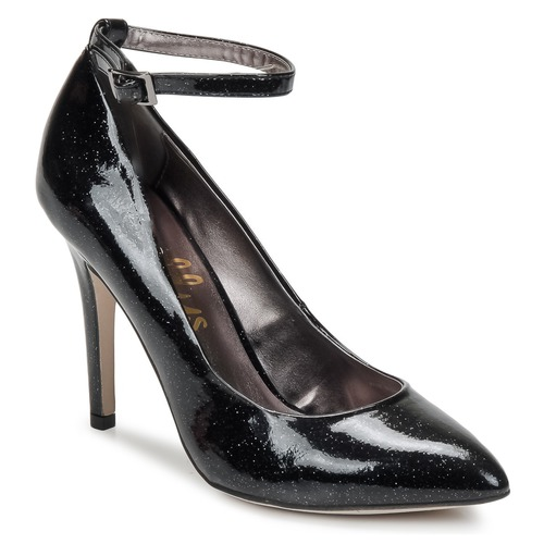 Shoes Women Court shoes Shellys London STAR Black / Glitter