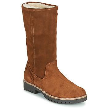 Shoes Women Boots Casual Attitude NESCAGO Camel