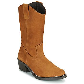 Shoes Women Boots Casual Attitude NESCARGO Camel