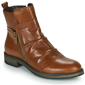 Shoes Women Mid boots Casual Attitude NERMITE Camel