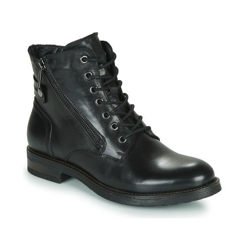 Shoes Women Mid boots Casual Attitude NUNAISE Black