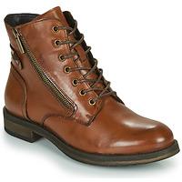 Shoes Women Mid boots Casual Attitude NUNAISE Camel