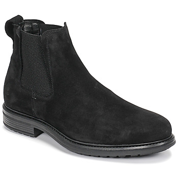 Shoes Men Mid boots Casual Attitude NONILLE Black