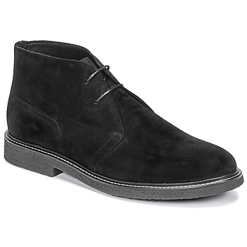 Shoes Men Mid boots Casual Attitude NETOINE Black
