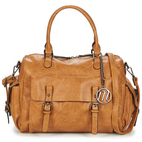 Bags Women Shoulder bags Moony Mood NUDI Cognac
