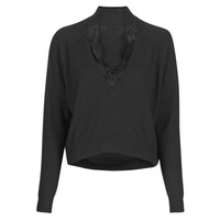material Women jumpers Guess FATIMA TURTLE Black