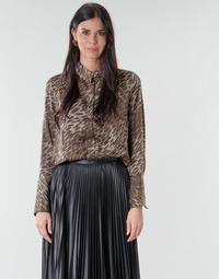 material Women Blouses Guess VIVIAN Leopard