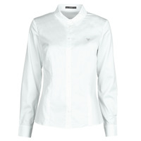 material Women Shirts Guess LS CATE White