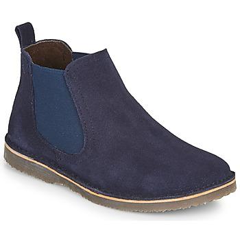 Shoes Boy Mid boots Citrouille et Compagnie HOVETTE Marine