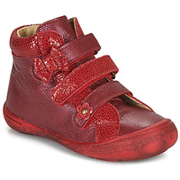 Shoes Girl High top trainers Citrouille et Compagnie HODIL Red