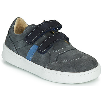 Shoes Boy Low top trainers Citrouille et Compagnie NESTOK Grey / Marine