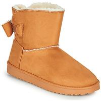 Shoes Women Boots Moony Mood NOWER Camel