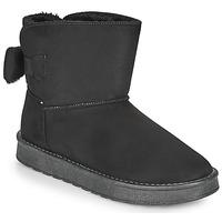 Shoes Women Mid boots Moony Mood NOWER Black