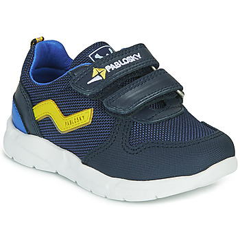 Shoes Boy Low top trainers Pablosky 285520-J Blue
