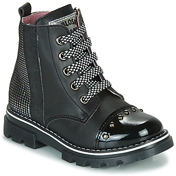 Shoes Girl Mid boots Pablosky 489410 Black