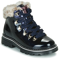 Shoes Girl Mid boots Pablosky 489629-J Blue
