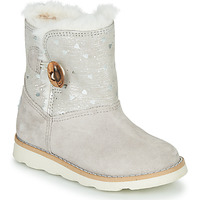 Shoes Girl Mid boots Pablosky 491506 Grey