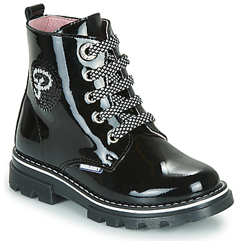 Shoes Girl Mid boots Pablosky 489819-C Black