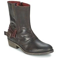 Shoes Women Mid boots Kickers AMERIKO Brown
