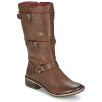 Shoes Women Boots Kickers GROWUP Brown / Dark