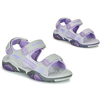 Shoes Children Sports sandals Kangaroos Sandalshine Grey / Violet