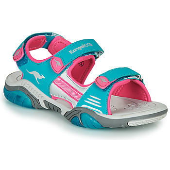Shoes Children Sports sandals Kangaroos Sandalshine Blue / Pink