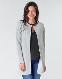 material Women Jackets / Blazers Vila VINAJA Grey