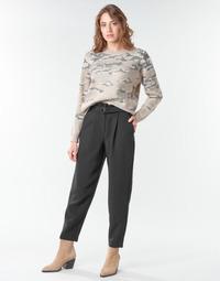 material Women cropped trousers Vila VICHARLOTTE Black