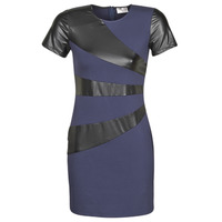material Women Short Dresses Moony Mood NEOFORGE Marine