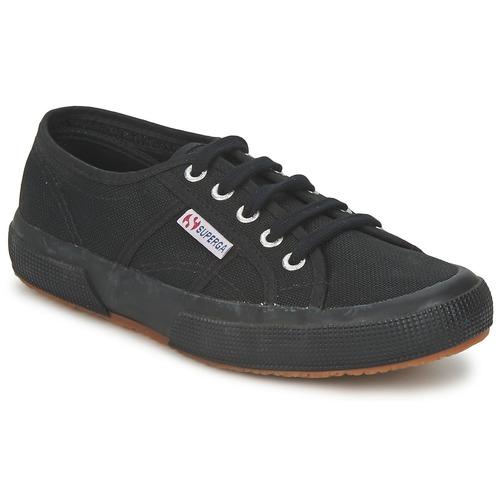 Shoes Low top trainers Superga 2750 COTU CLASSIC Black