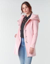 material Women coats Moony Mood PANTE Pink