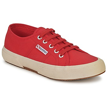 Shoes Low top trainers Superga 2750 CLASSIC Brown / Red