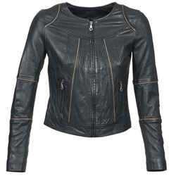 material Women Leather jackets / Imitation le Kookaï VIDITE Black