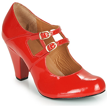 Shoes Women Court shoes Cristofoli MASTIS Red / Varnish