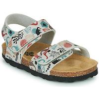 Shoes Children Sandals Citrouille et Compagnie BELLI JOE Beige