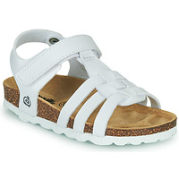 Shoes Girl Sandals Citrouille et Compagnie JANISOL White