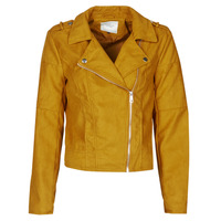 material Women Leather jackets / Imitation le JDY JDYNEW PEACH Mustard