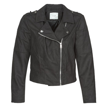 material Women Leather jackets / Imitation le JDY JDYNEW PEACH Black