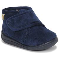 Shoes Boy Slippers Citrouille et Compagnie HALI Marine