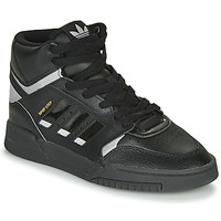 Shoes Low top trainers adidas Originals DROP STEP Black / Silver