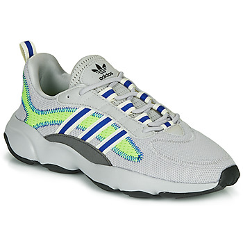 Shoes Low top trainers adidas Originals HAIWEE Grey / Green